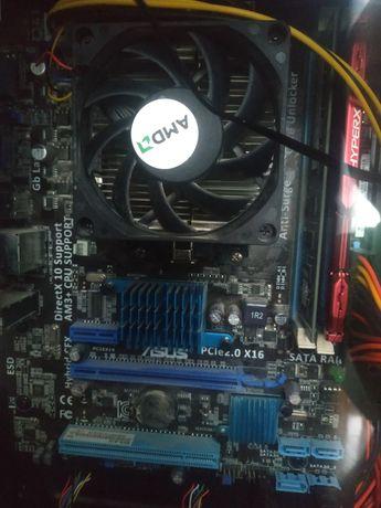 Комплект am3+ материнская плата Am3+ процессор Am3+
