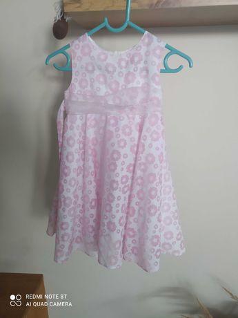 Sukienka letnia, przewiewna, lekka, z podszewką Cool Club r. 92