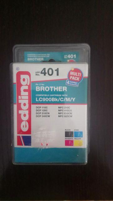 Kompatybilny wkład atramentowy Edding 401 do Brother multipak 4 tusze