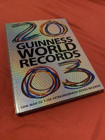 Livro Guinness World Records 2003 (Usado)