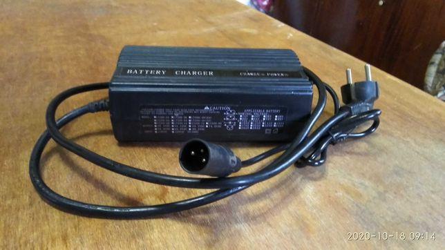 Зарядное устройство 48в. для электровелосипеда