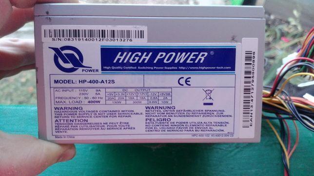 Блок питания HIGH POWER 400W