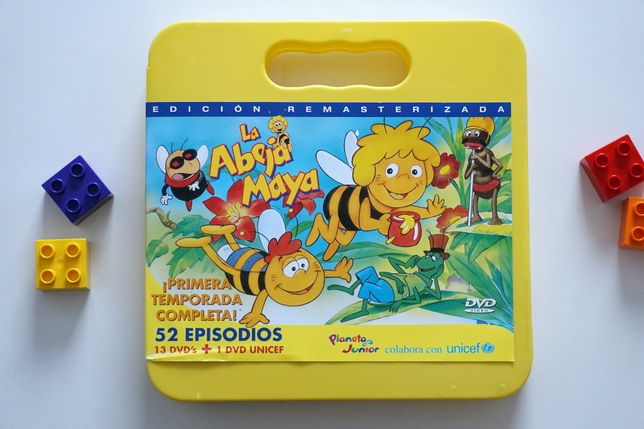La abeja Maya - Pszczółka Maja - bajka po hiszpańsku