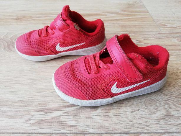 Wygodne dziecięce buty sportowe Nike roz 23, stan db/bdb