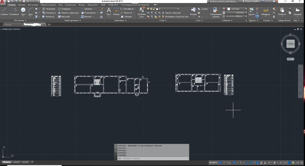 Работа в Autocad. Перенос и оцифровка чертежей