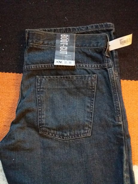 Jeansy old navy boot cut rozm. 32x30