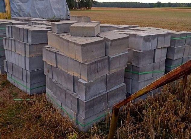 Bloczki betonowe fundamentowe