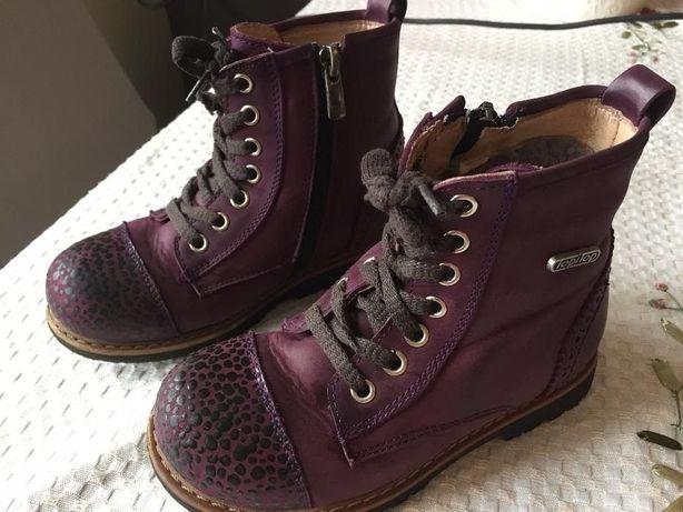 Зимние ортопедические ботинки на цигейке натуральная кожа TOPITOP