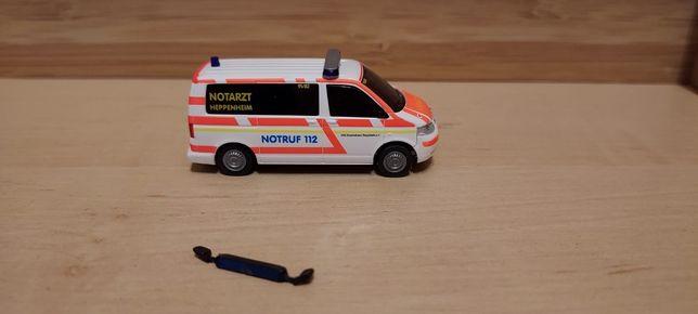 VW T5 Notruf 112 Ambulans Rietze 1:87
