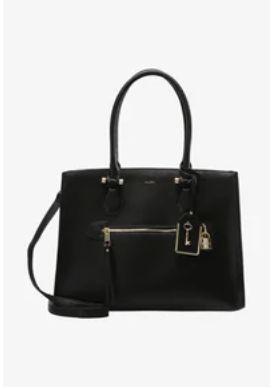 Czarna torebka ALDO aktówka