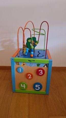 Caixa de estimulação cognitiva para crianças