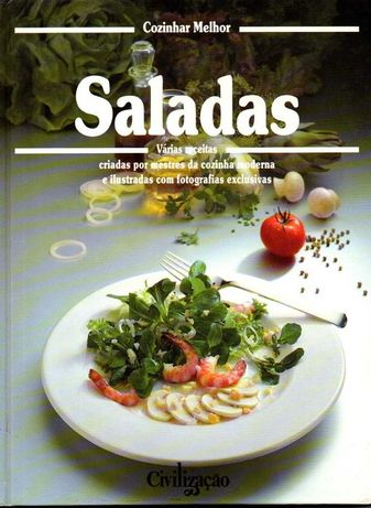 Livro - Cozinhar Melhor - Saladas