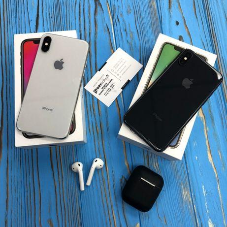 Айфон 10 iPhone X на 64гб и 256gb silver и space gray! большой выбор!