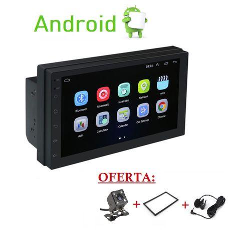 (NOVO) Rádio 2DIN ANDROID 10.1 • 2+16GB • OFERTA Câmera Moldura • GPS