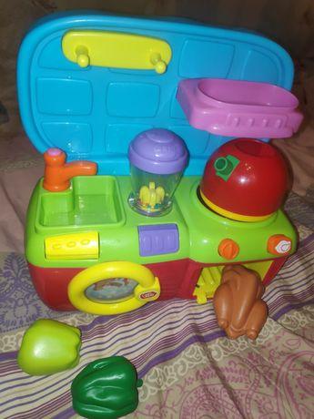 Кухня детская со звуками, 2+