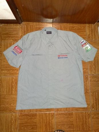 camisa toyota