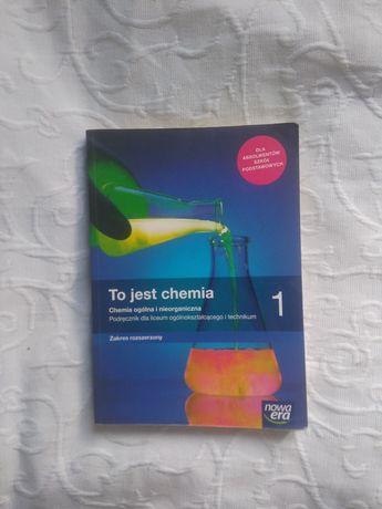 Podręcznik do chemii rozszerzonej dla 1 klasy liceum po sz.podstawowej