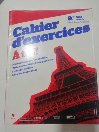 À Toi ! - Francês - 8º ano - nível 2 - Cahier d'exercices