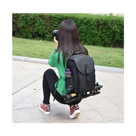Фоторюкзак небольшой черный синий серый рюкзак для фототехники