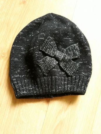 Śliczna czapeczka dla dziewczynki 5-8lat