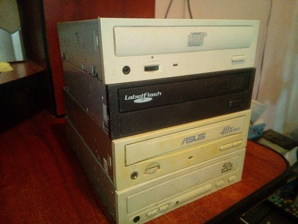 Дисководы CD и DVD (4 штуки)