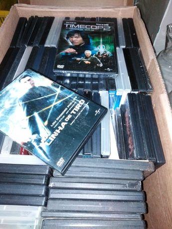 DVD de Filmes conjunto de 60 a 70 unidades