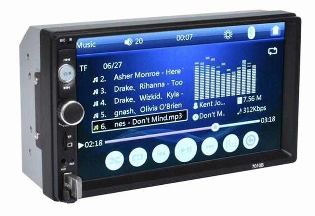 Radio samochodowe 2DIN 7 CALI USB Bluetooth + kamera