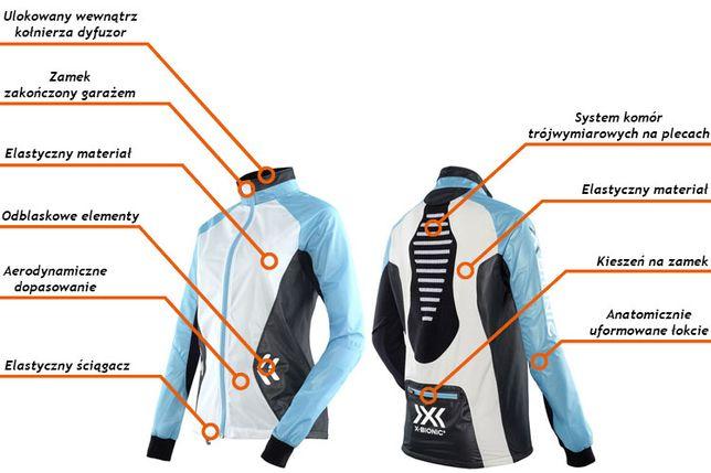 NOWA Kurtka X-BIONIC Spherewind Running Jacket Woman - XL slim