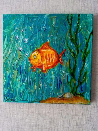 "Картина ""Золотая рыбка"""