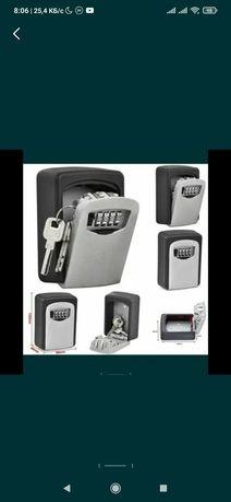 Мини сейф для ключей и Сифон для газирования воды Sodastream Cool