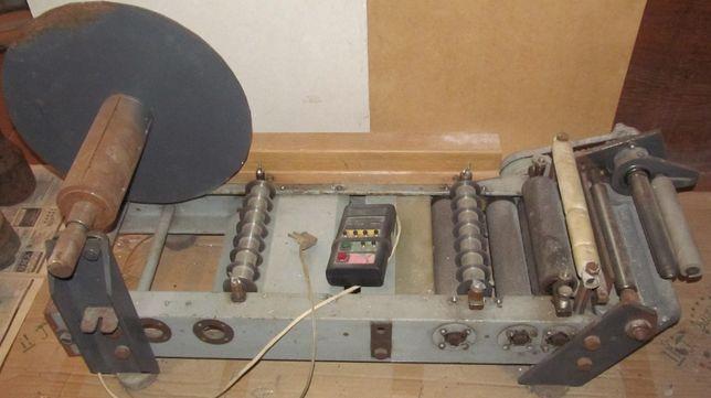 Станок с металлическими валиками для размотки 220 В