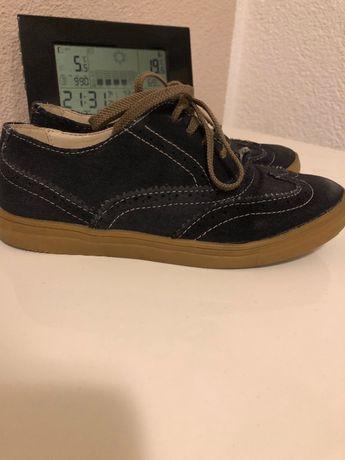 Продам кожаные туфли на мальчика, размер 33
