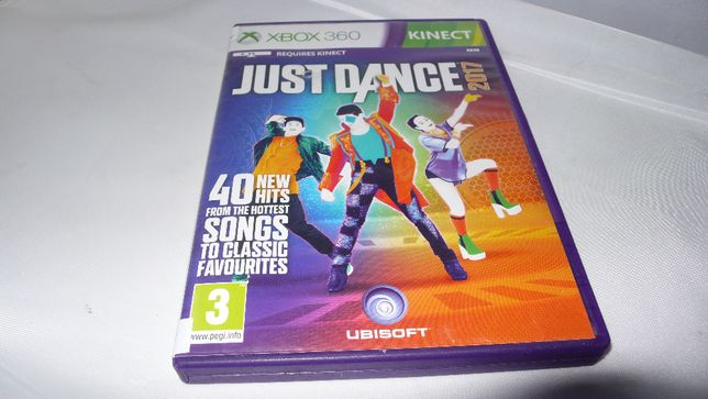 Gra do XBox 360 Just Dance 2017 nauka tańca tańczenie do Kinect XBox