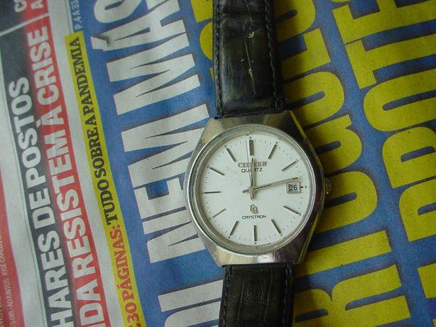 Relógio, Citizen Crystron, de luxe