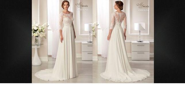 Suknia ślubna bez trenu