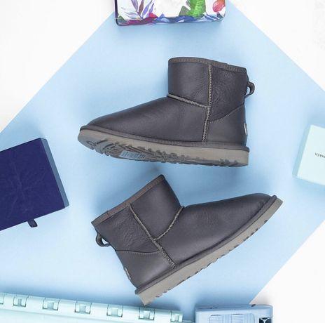 Угги UGG Australia 100% оригинал мини кожа Mini Leather ЦВЕТА