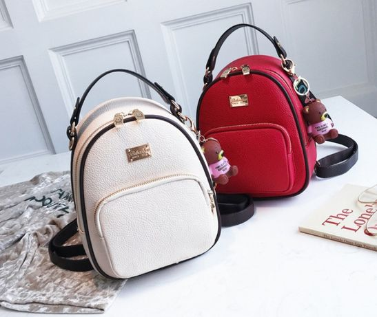 Женский кожаный рюкзак портфель жіночий шкіряний ранець новинка 2020
