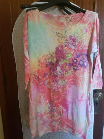 Vestido/túnica colorido