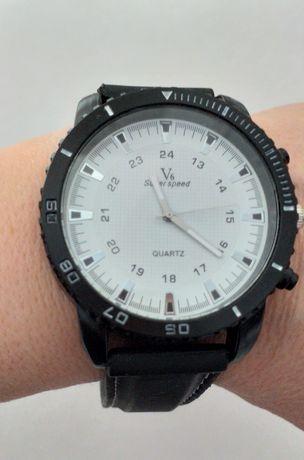 Zegarek V6 biała tarcza