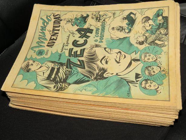 6 Mundo de Aventuras antigo, Série 1 - lote de 6 números à escolha