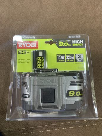 Bateria Ryobi 9.0Ah 18 v nowa gwarancja