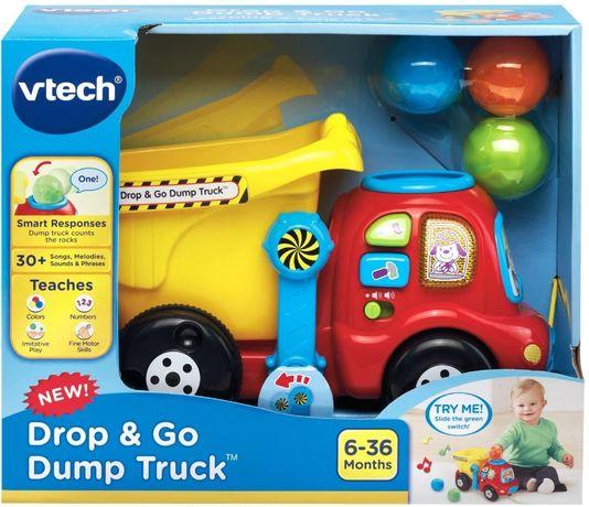 Развивающая игрушка музыкальный грузовик-самосвал VTech витечччч