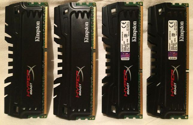 Kingston HyperX Beast DDR3 KHX16C9T3K4/16X 1600 МГц