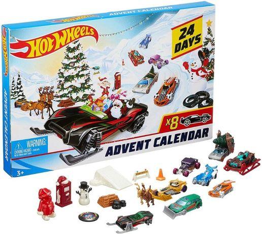 Hot Wheels 2019 Новорічний Адвент календар