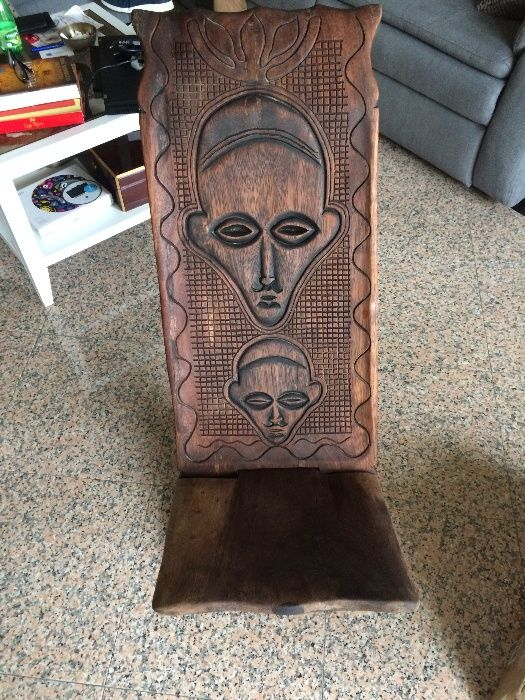 Cadeira Africana Carcavelos E Parede - imagem 1