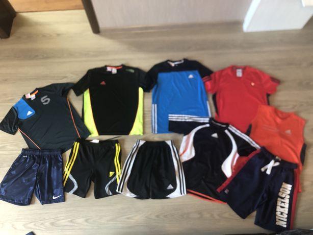 Спортивная одежда подростку футболки и шорты оригинал Adidas