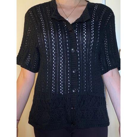 Casaco de Crochet Vintage