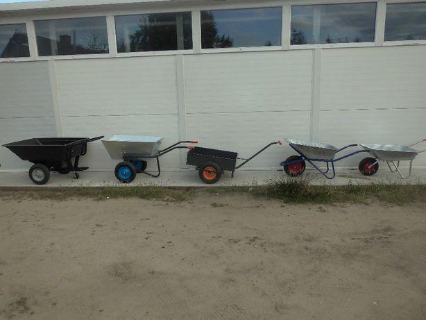 Taczka stalowa japonka wózek ogrodowa budowlana oraz inne