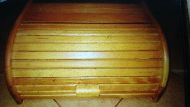 Chlebek drewniany pamiątka PRL
