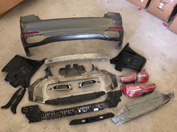 бампер бмв 7 г12 фонарь bmw г11 g12 усилитель Бампер BMW G12 Г12 ляда